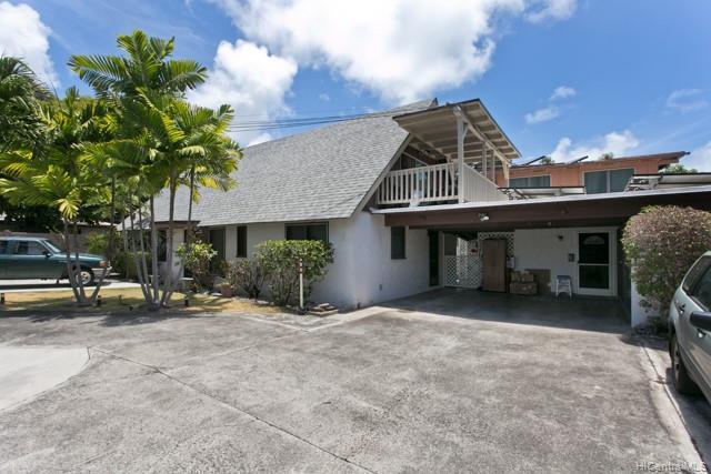 Photo of home for sale at 1226 A Aalapapa Drive, Kailua HI