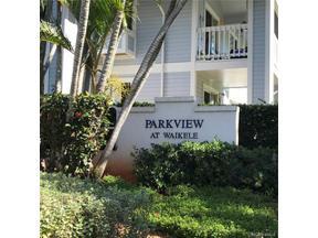 Property for sale at 94-201 Lumiaina Place Unit: E205, Waipahu,  Hawaii 96797