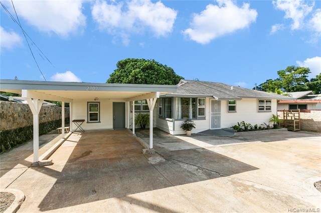 Photo of home for sale at 2309 California Avenue, Wahiawa HI