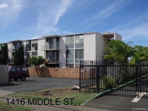 Photo of home for sale at 1416 Middle Street, Honolulu HI