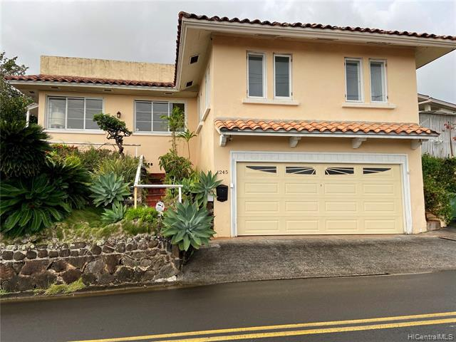 Photo of home for sale at 1245 Alewa Drive, Honolulu HI