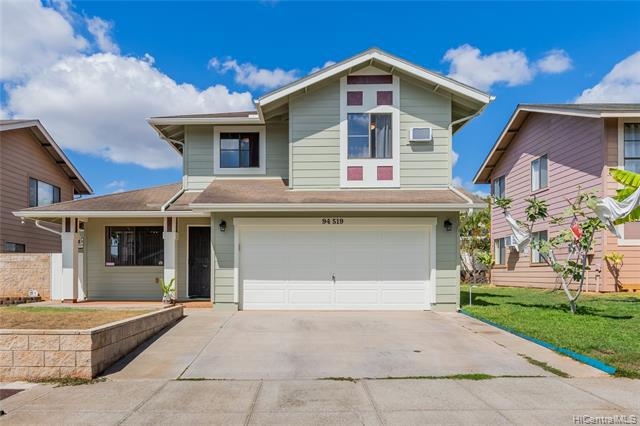 Photo of home for sale at 94-519 Mehe Place, Waipahu HI