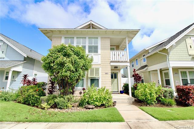 Photo of home for sale at 91-1368 Kaileolea Drive, Ewa Beach HI