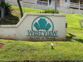 Property for sale at 92-1232 Palahia Street Unit: AA101, Kapolei,  Hawaii 96707