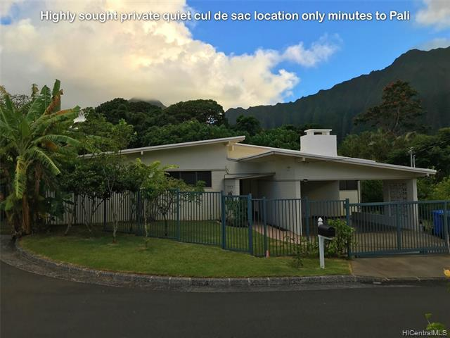 Photo of home for sale at 45-632 Nohomalu Place, Kaneohe HI