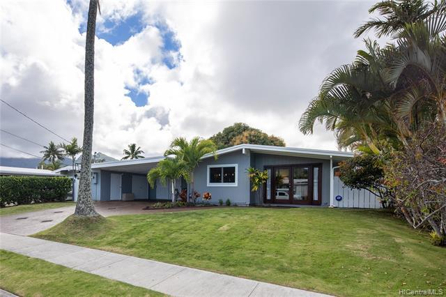 Photo of home for sale at 546 Palawiki Street, Kailua HI