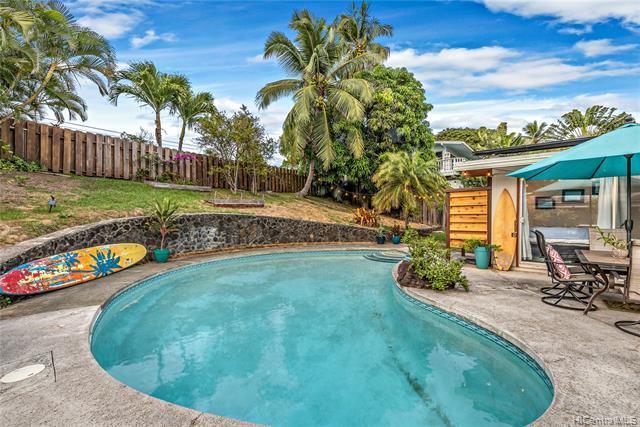 Photo of home for sale at 1023 Mokapu Boulevard, Kailua HI