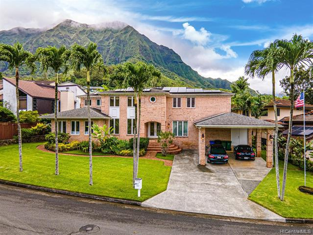 Photo of home for sale at 1257 Puualoha Street, Kailua HI