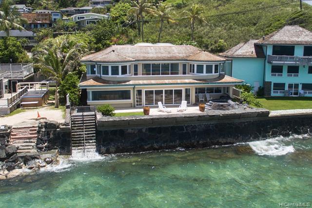 Photo of home for sale at 742 Mokulua Drive, Kailua HI