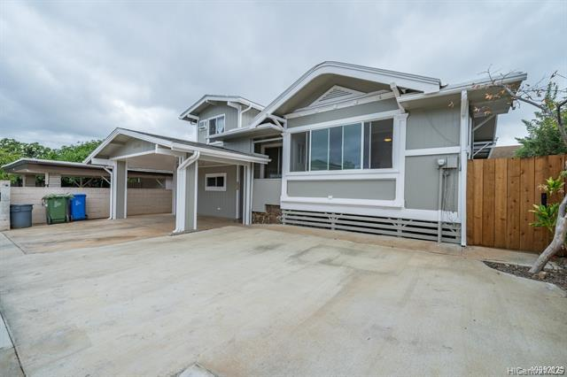 Photo of home for sale at 3454 Campbell Avenue, Honolulu HI