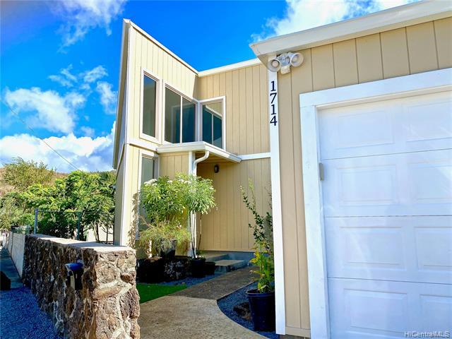 Photo of home for sale at 1714 Elua Street, Honolulu HI