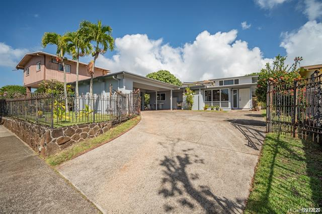 Photo of home for sale at 1341 Komo Mai Drive, Pearl City HI