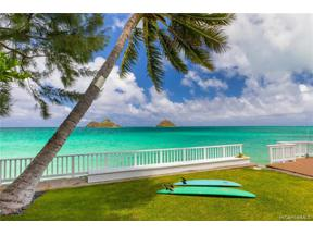 Property for sale at 1276 Mokulua Drive, Kailua,  Hawaii 96734