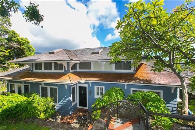 Photo of home for sale at 2231 Mohala Way, Honolulu HI