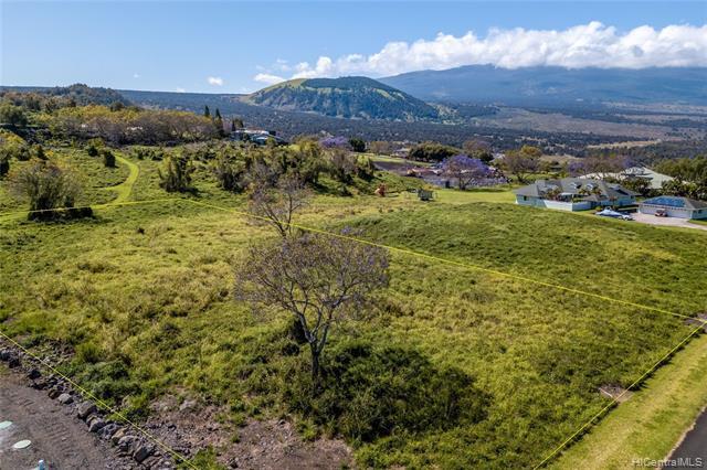 Photo of home for sale at 00 Puu Kamanu Lane, Kailua Kona HI