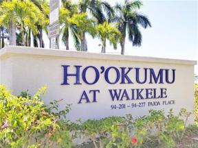 Property for sale at 94-217 Paioa Place Unit: G 101, Waipahu,  Hawaii 96797