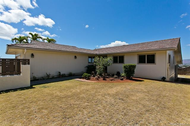 Photo of home for sale at 98-702 Papalealii Street, Aiea HI