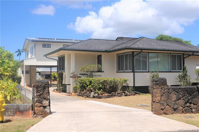 Photo of home for sale at 1592 Eames Street, Wahiawa HI