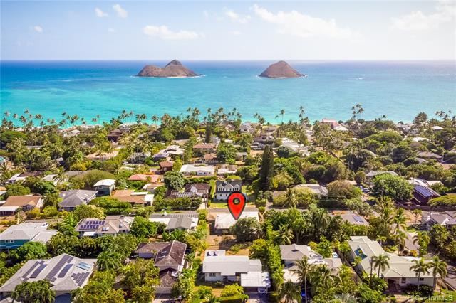 Photo of home for sale at 1445 Mokolea Drive, Kailua HI