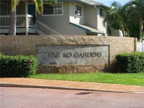 Property for sale at 91-1030 Kaiau Avenue Unit: 7E, Kapolei,  Hawaii 96707
