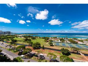 Property for sale at 1288 Ala Moana Boulevard Unit: 12EF, Honolulu,  Hawaii 96814