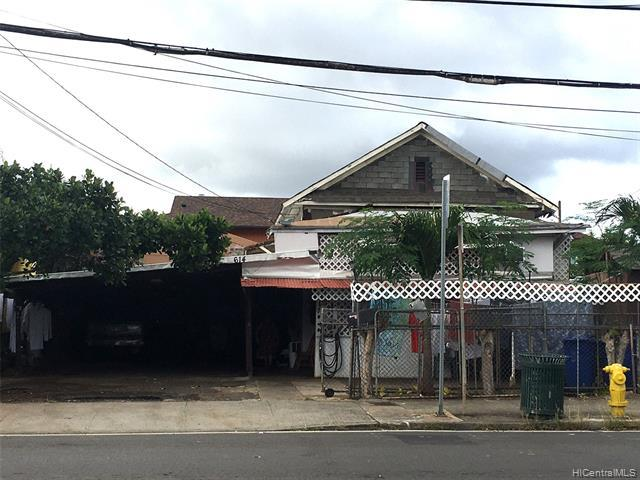 Photo of home for sale at 614 Kalihi Street, Honolulu HI