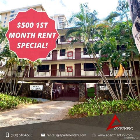 Photo of home for sale at 2420 Kuhio Avenue, Honolulu HI