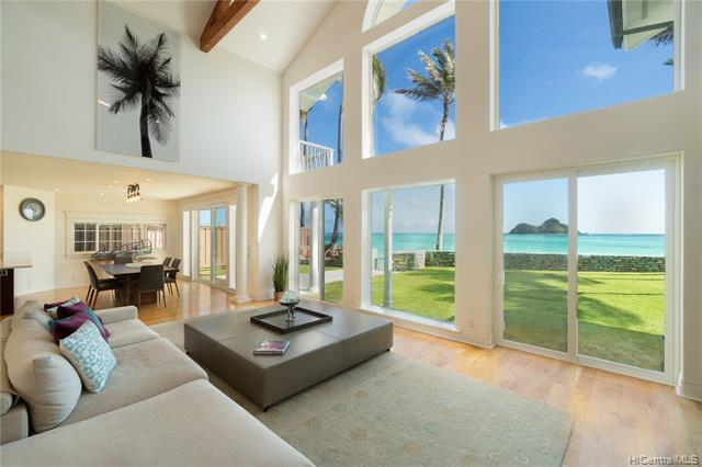 Photo of home for sale at 1360 Mokulua Drive, Kailua HI