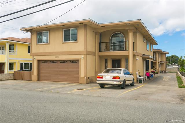 Photo of home for sale at 2331 Rose Street, Honolulu HI