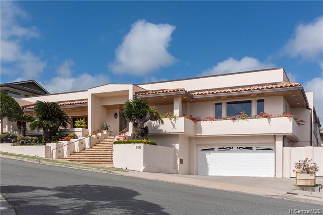 Photo of home for sale at 591 Paikau Street, Honolulu HI