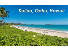 Property for sale at 86 S Kalaheo Avenue, Kailua,  Hawaii 96734