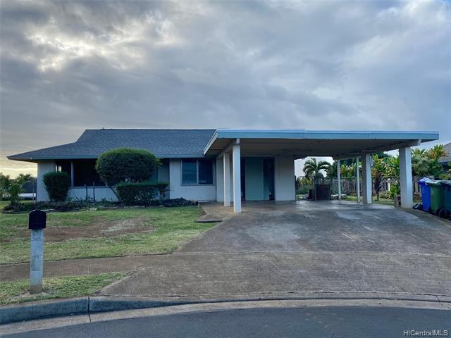 Photo of home for sale at 94-1285 Hiapaiole Place, Waipahu HI