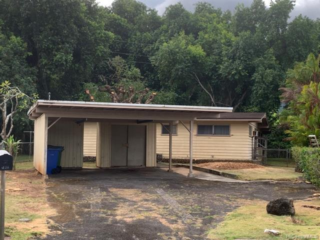 Photo of home for sale at 45-271 Pouhanuu Place, Kaneohe HI