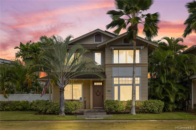 Photo of home for sale at 91-1112 Kaileonui Street, Ewa Beach HI