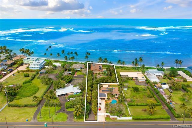 Photo of home for sale at 67-419 Waialua Beach Road, Waialua HI