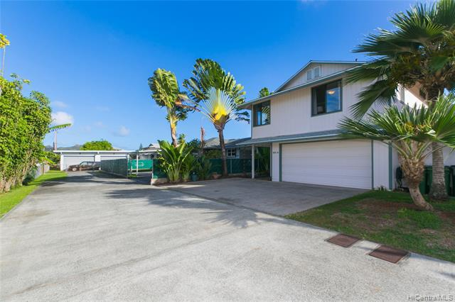 Photo of home for sale at 410A Manono Street, Kailua HI