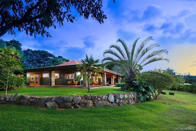 Photo of home for sale at 65-1140 Poamoho Street, Waialua HI