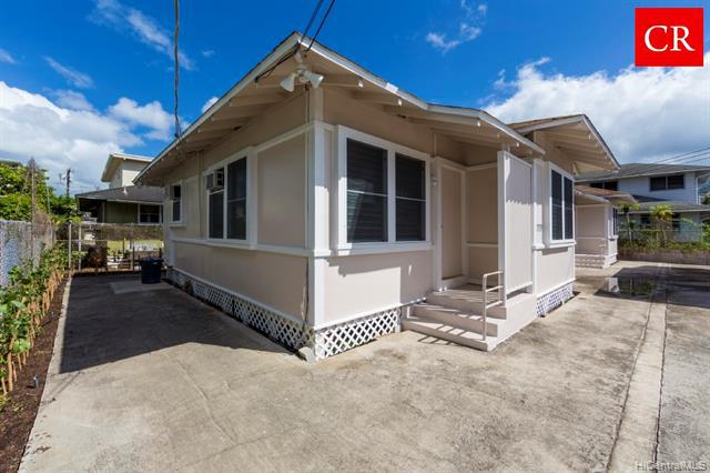 Photo of home for sale at 1738 Citron Street, Honolulu HI