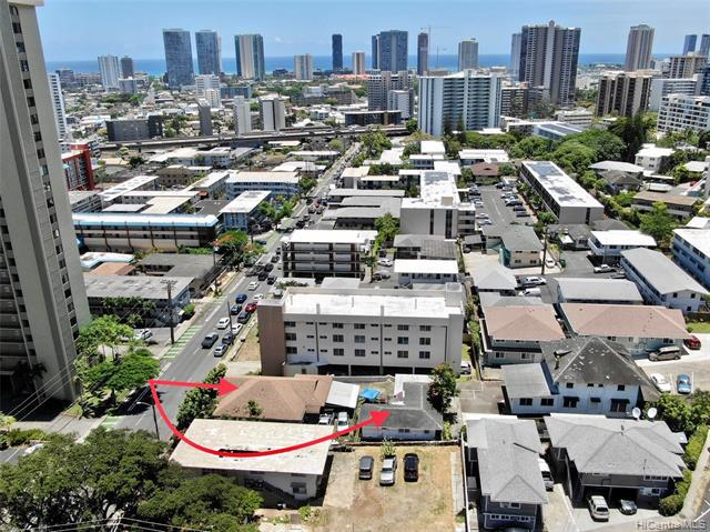 Photo of home for sale at 1568 Pensacola Street, Honolulu HI