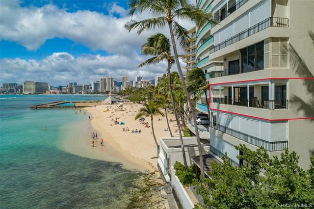 Photo of home for sale at 2893 Kalakaua Avenue, Honolulu HI