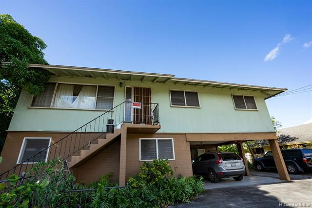 Photo of home for sale at 1454 Middle Street, Honolulu HI