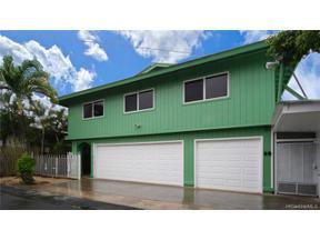 Property for sale at 1022 Belser Street, Honolulu,  Hawaii 96816