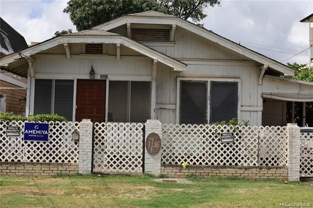 Photo of home for sale at 1736 Fern Street, Honolulu HI