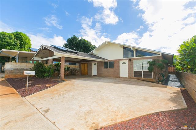 Photo of home for sale at 3227 Duval Street, Honolulu HI