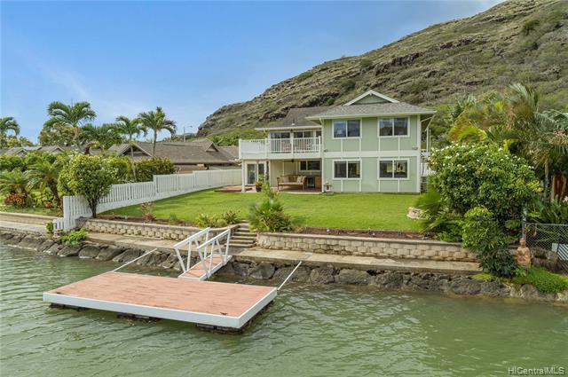Photo of home for sale at 7391 Makaa Street, Honolulu HI