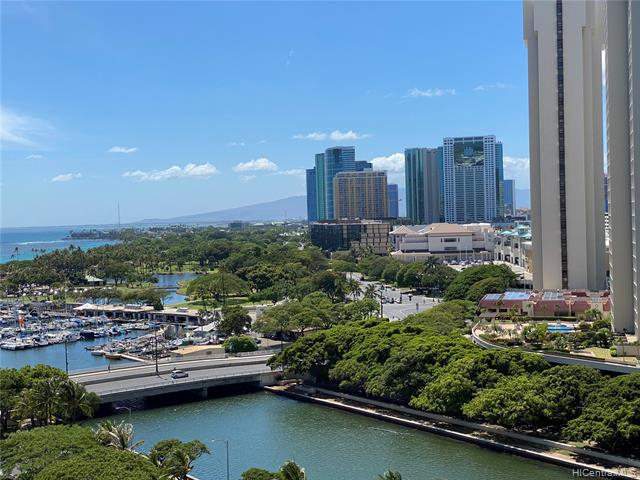 Photo of home for sale at 1551 Ala Wai Boulevard, Honolulu HI