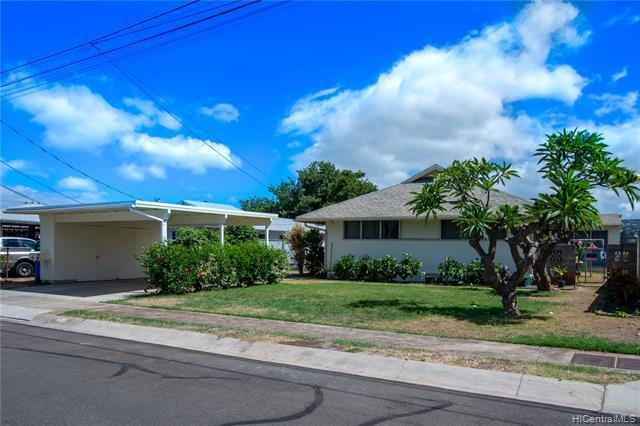 Photo of home for sale at 4536 Ukali Street, Honolulu HI