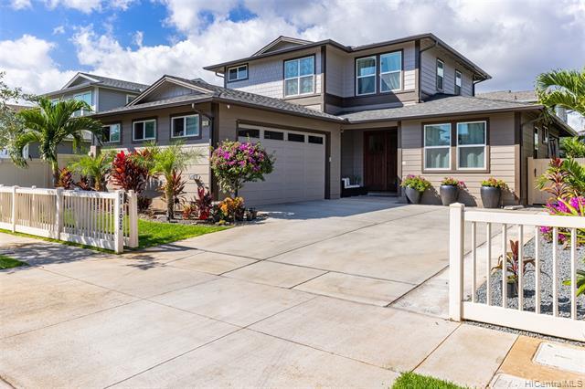 Photo of home for sale at 91-1022 Hokua Place, Ewa Beach HI
