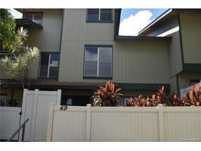 Property for sale at 92-1272 Kikaha Street Unit: 49, Kapolei,  Hawaii 96707