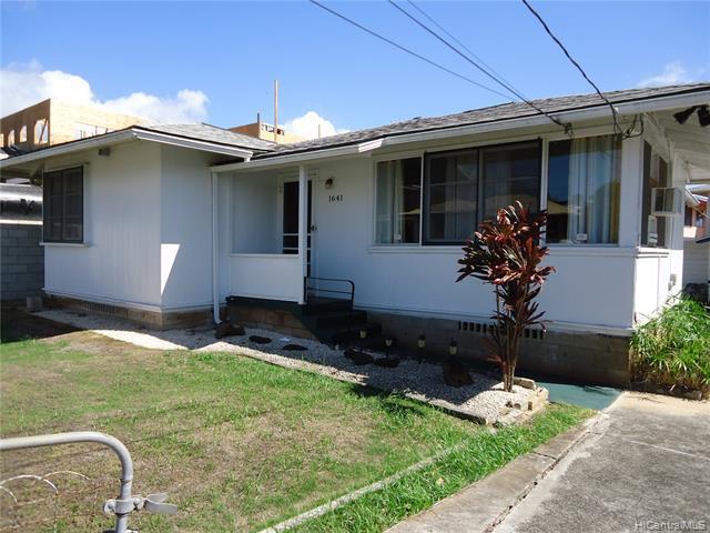Photo of home for sale at 1641 Hauiki Street, Honolulu HI